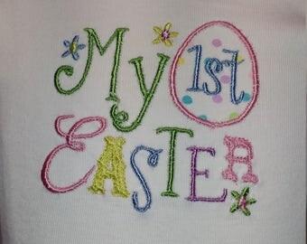 """Little girls """"My First Easter Shirt"""""""
