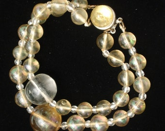 Bubble Bracelet Vintage Double Strand
