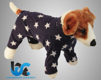Cat and Dog Fleece Pajama's PJ's Onsie