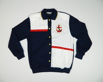 Vintage Nautical Sweater