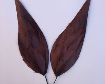 1940 's feathers feathers bordeaux millinery millinery