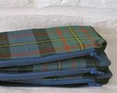 Handmade Recycled Tartan Kilt Pouch