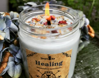 HEALING ~ Spell Candle ~ 8 oz