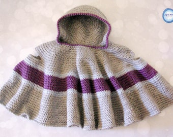 Crochet Car Seat Cloak PATTERN DOWNLOAD