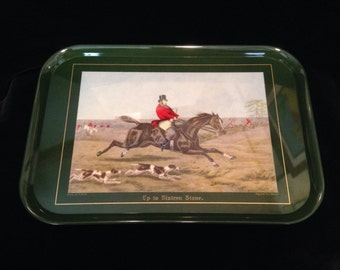 Vintage horse serving tray- Colombo