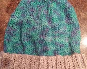 Winter Hat with Pom Pom