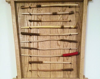 Handcarved willow branch wands - just call me Olivanjuli!