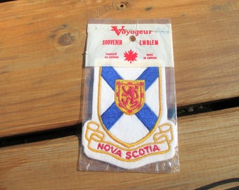 Canadian Nova Scotia Patch