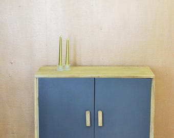 Blue vintage furniture