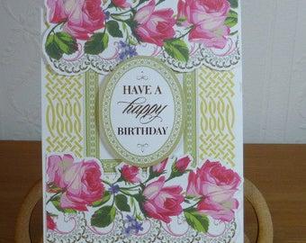 Ladies Pop Up Birthday Card