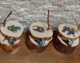 Handmade Cedar Wood Ring box