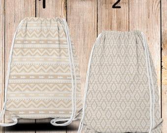 Gym-Bag, Gym Drawstring Bag, Turnbeutel, Sportbeutel, Gymnastikbeutel , Native 3