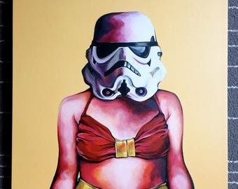 Limited Canvas Print // WonderTrooper