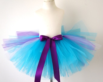 Blu and Purple Tutu - Girls Tutu - Kids Tutu - Toddler Tutu