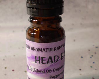 Head Ease Aromatherapy Diffuser Blend - Pure Essential Oil Blend - Holistic - Diffuse