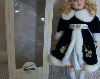 Tanya Seymour Mann Doll from the Connoisseur Collection of Dolls (#0335)
