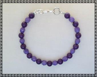 purple bracelet, dark purple, light purple, purple