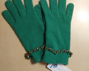 NEW Portolano Genuine Wool Gloves 7.5