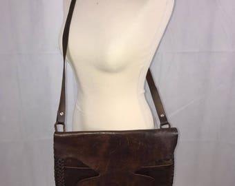 Vintage Leather Messanger