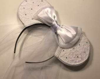 Bride Mouse Ears