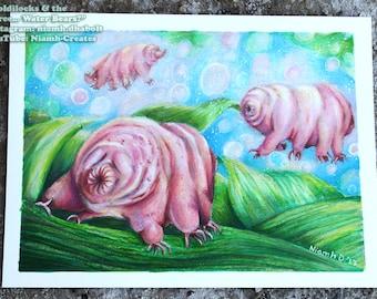 Tardigrade/Water Bear Illustration- Original Art