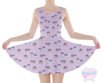 Jammie Sprinkles Skater Dress