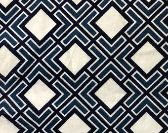 Springs Creative Diamond Geo CP51487 Cotton Flannel Fabric