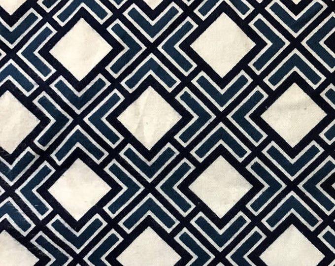 Springs Creative Diamond Geo CP51487 Cotton Flannel Fabric