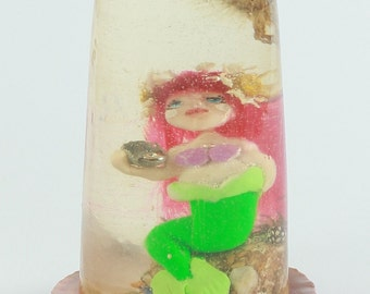 Mermaid Jewelry Resin-Little Doll