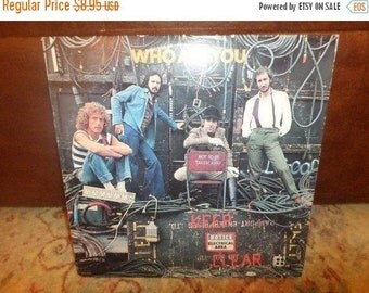 Save 30% Today Vintage 1978 LP Record The Who MCA Records 3050 Who Are You Very Good Condition 5035