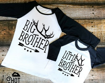 DIY - Iron on Decal - Big Brother - Little Brother - Littlest Brother - Create Your Own - Applique - Shirt - Pajamas - Pillow - Tote - A39
