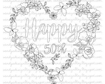 Happy 40/50/60th