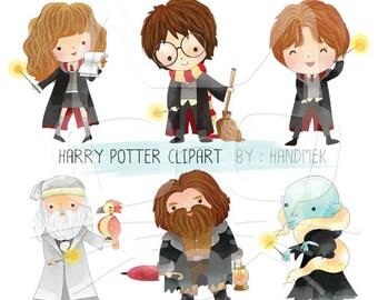 Harry potter clipart Instant Download PNG file - 300 dpi