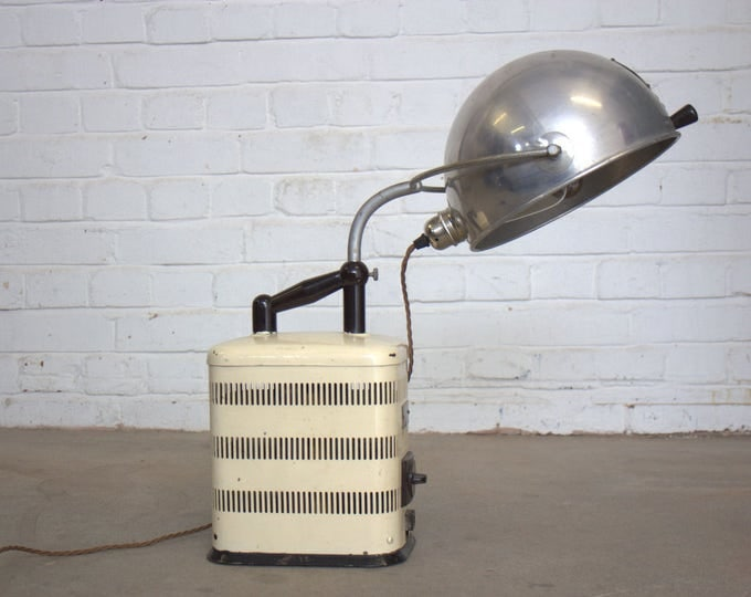 Hanau S300 Medical Desk Lamp Circa 1930's