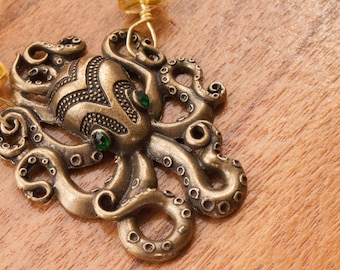 Octo-awesome - Octopus Necklace