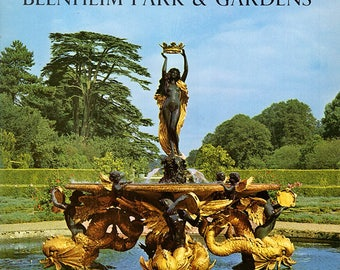 Blenheim Park and Gardens. Illustrated. Principal residence of the dukes of Marlborough. Country and palace in England (26145)