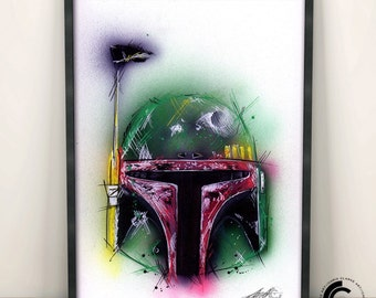 Boba Fett Limited Edition Print