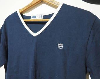 50% off * Vintage Fila T-shirt-90's
