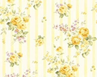 Zoey~Christine Lemon Chiffon~ Cotton Fabric by Benartex~Cotton Fabric, Quilt, Home Decor~Fast Shipping,F806
