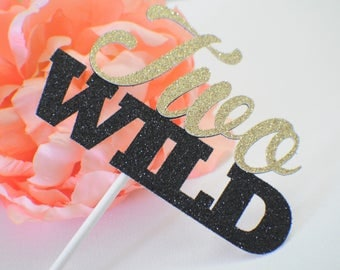 Two Wild Cake Topper, Two Wild Party, Wild one cake topper, one cake topper, boho cake topper, Teepee Party