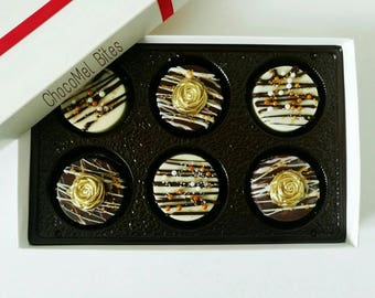 Chocolate covered Oreos - Chocolate gift box - Wedding favors - Party favors - Chocolate Oreos - Corporate gifts