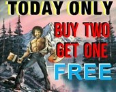 TODAY ONLY Buy Two, Get One FREE - Your Choice - Pop Culture Parodies by Dave Pollot - Repurposed Thrift Art -  Prints Posters Canvas Pop
