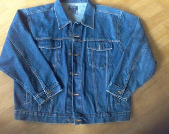Jean Jacket 2XL, Denim Blues , Merrill & Forbes Outfitters, 100 % Cotton
