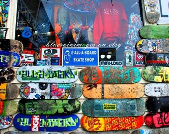 Skateboard Decor, Skateboard Art, Street Art, Urban Art