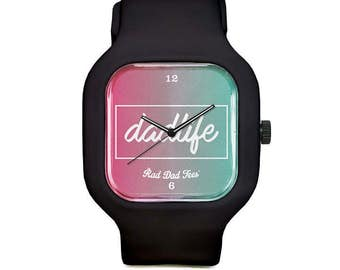 Gradient DAD LIFE Sport Watch, wristwatch, father's day, for dad, dads, accessories