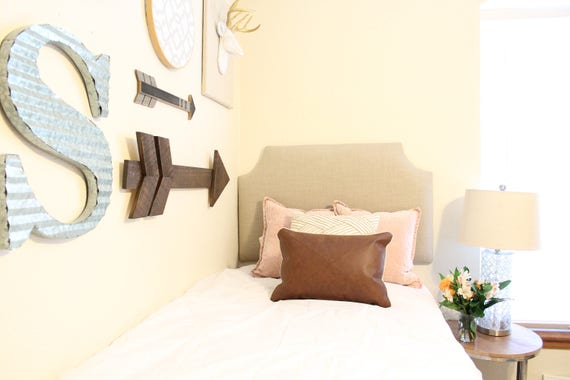 Dorm Twin Headboard, Linen Collection