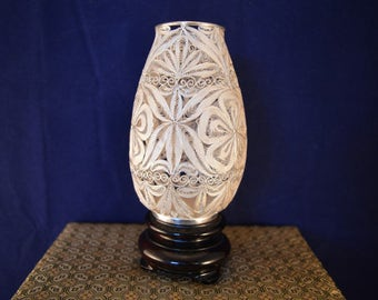 A lovely SUHAI SILVER Chrysanthemum Vase - Limited Edition - Boxed