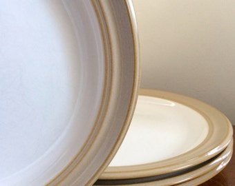 Dansk Sirocco Rustic Vintage Dinner Plates - Set of 4