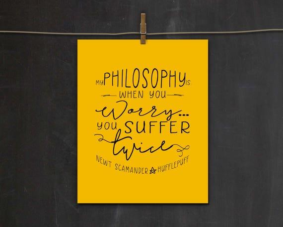 Newt Scamander Quote Hufflepuff Harry Potter Amp Fantastic