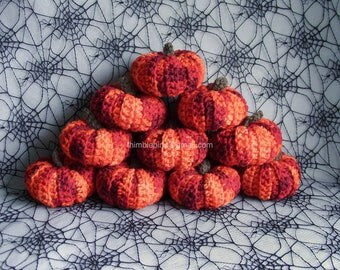 Limited Edition - (Special Offer Price) - Halloween Crochet Pumpkin Decoration